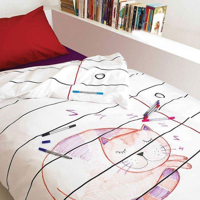 креативное постельно белье Doodle от Stitch