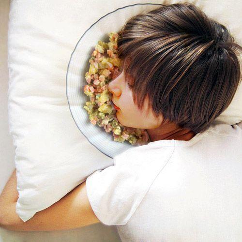 оригинальные подушки лицом в салат 2