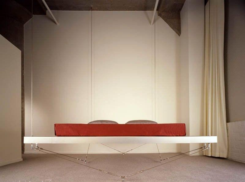 подвесная кровать - крепление к полу и потолку