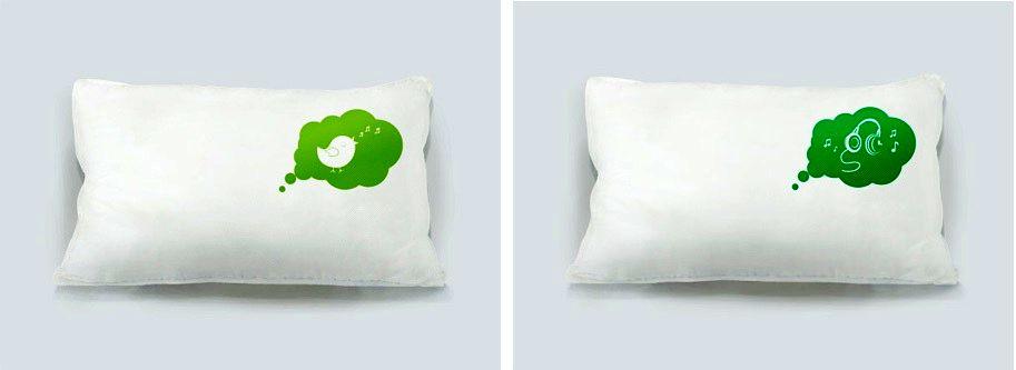 подушки idream с рисунком