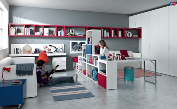 интерьер комнаты для двух детей, MisuraEmme