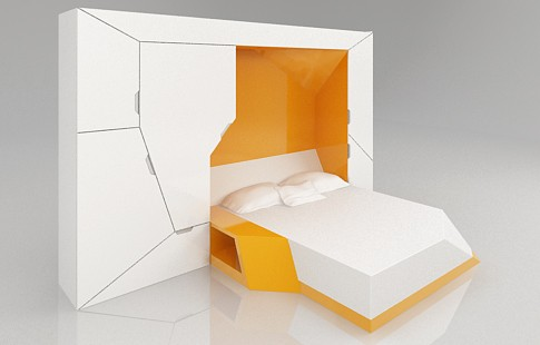 спальный блок - компактная мебель-трансформер Boxetti