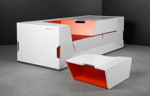 модульный блок Boxetti для зоны отдыха