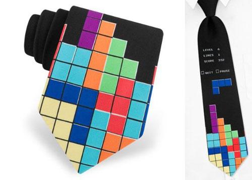 галстук - тетрис