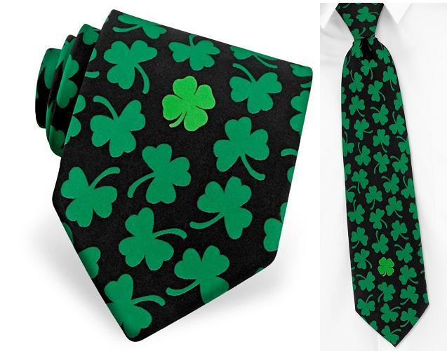галстук - клевер