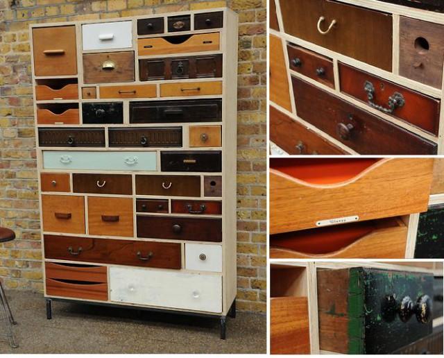 шкаф из старых ящиков своими руками, Rupert Blanchard