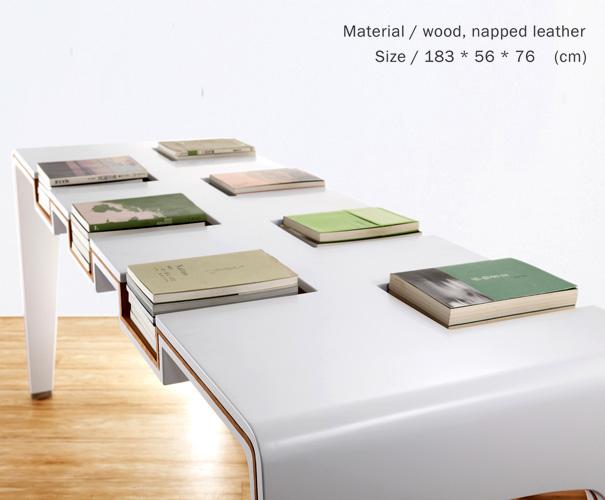 книжный стол - размеры