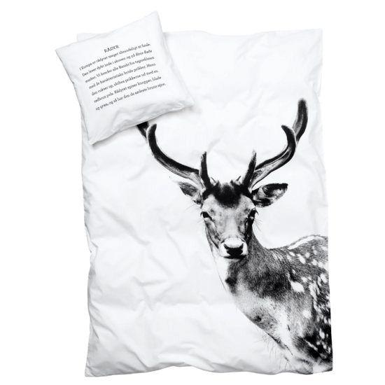 дизайн постельного белья с оленем от Le souk