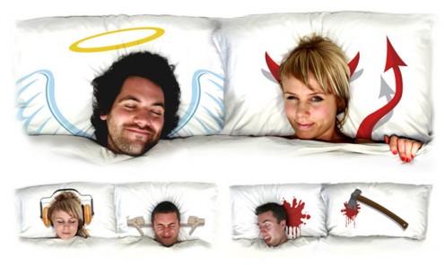 подушки с характером