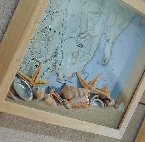 морской берег, идеи декора для дома