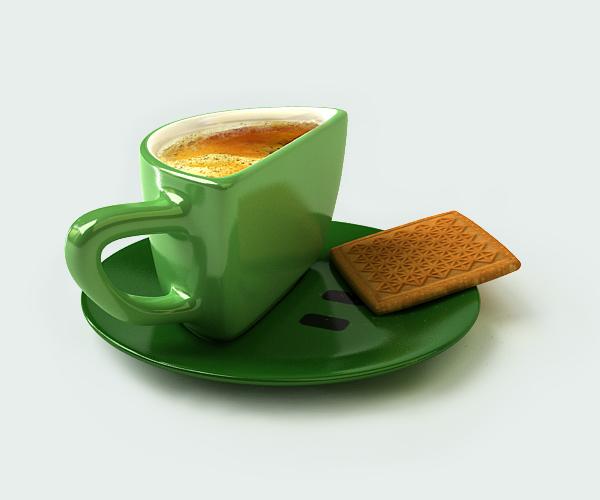 чашка Smilecup от Psyho, вид сбоку