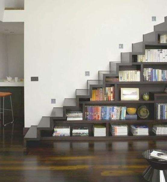 Лестница - книжный шкаф