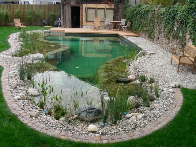 плавательный пруд - купальня