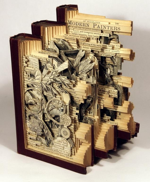 книжное искусство, Brian Dettmer