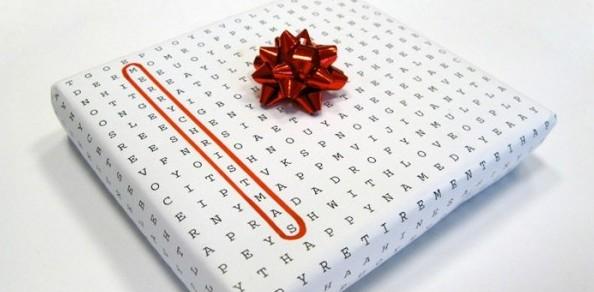 подарочная оберточная бумага своими руками