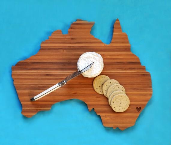 разделочная доска Австралия, AHeirloom