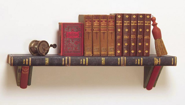 книжная полка из словарей, Jim Rosenau