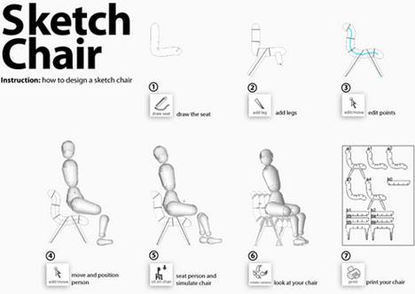программа для дизайна мебели sketch chair