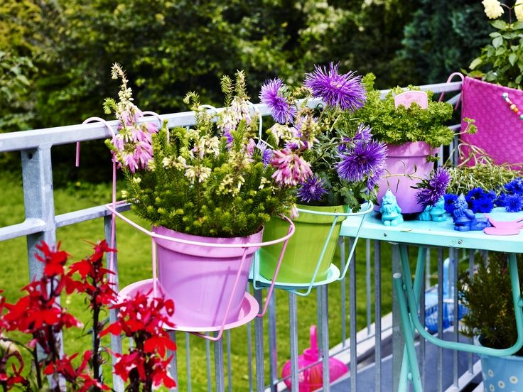 подвесные подставки для цветочных горшков