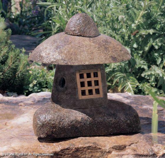 японский каменный фонарь Wabi oki-gata