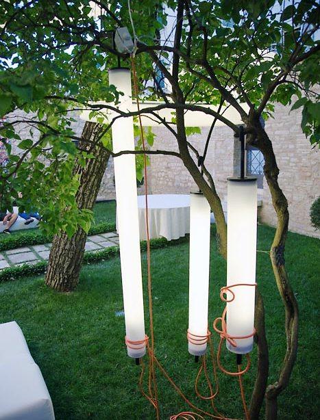 подвесные садовые лампы