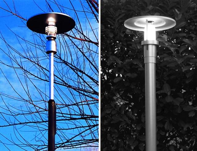 высокие фонари садово-паркового типа
