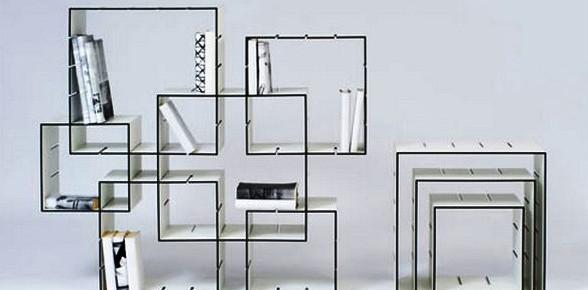 Собери стеллаж: большой конструктор Konnex