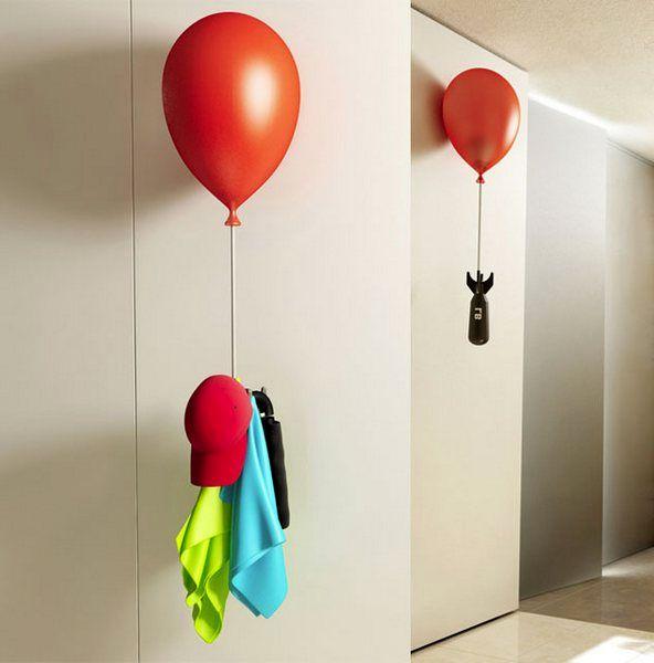 вешалка в виде воздушного шарика