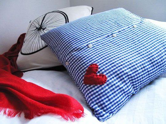 Подушка на 23 февраля своими руками