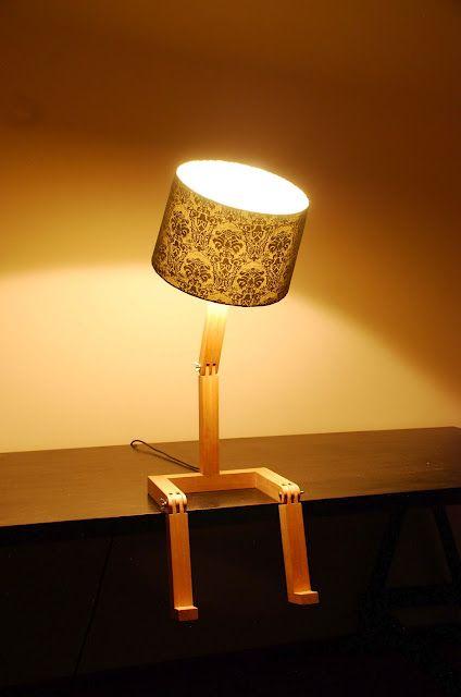 Как сделать на ножках светильник своими руками7