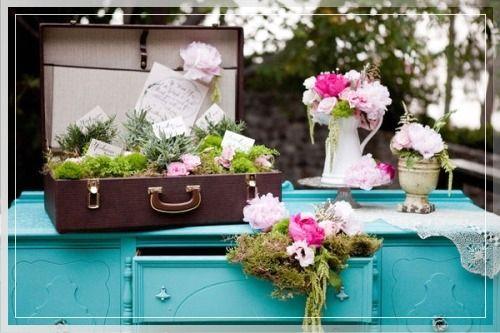 Цветы в чемодане