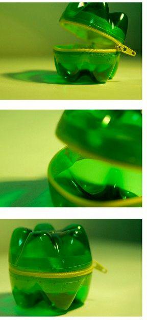 шкатулки из пластиковых бутылок своими руками