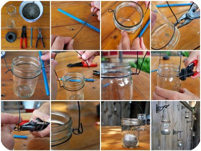 мастер-класс как сделать садовые фонарики - подсвечники своими руками