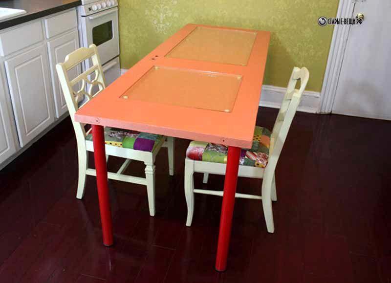 Как сделать из старого стола новый своими руками