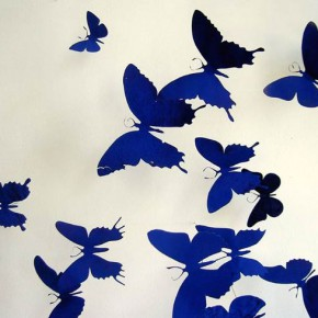 Бабочки из пивных банок от Paul Villinski