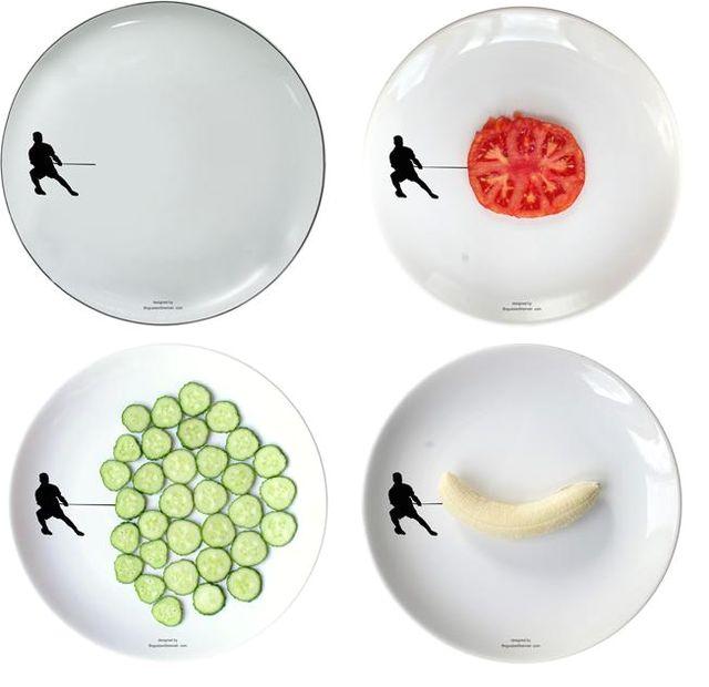рисунки на тарелках Boguslaw Sliwinski