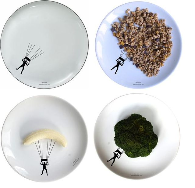 спортивные рисунки на тарелках Boguslaw Sliwinski