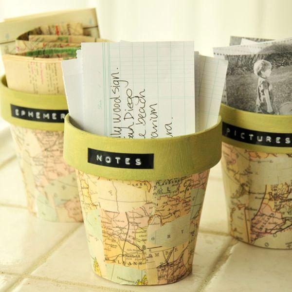 аксессуары географические карты в интерьере