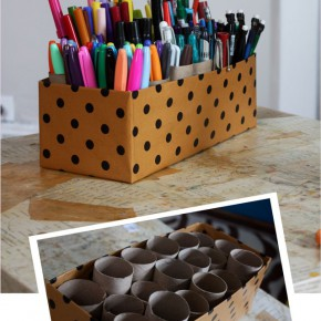 Подставка для ручек и карандашей за несколько минут