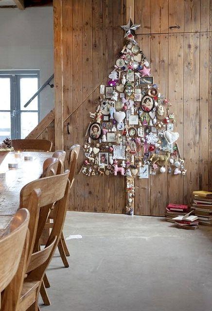 альтернативные варианты новогодних елок