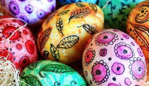 Пасхальные яйца: оригинально, просто и весело!