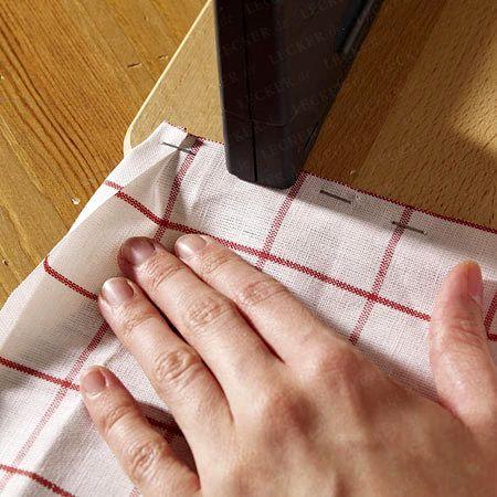 Салфетки столовые своими руками