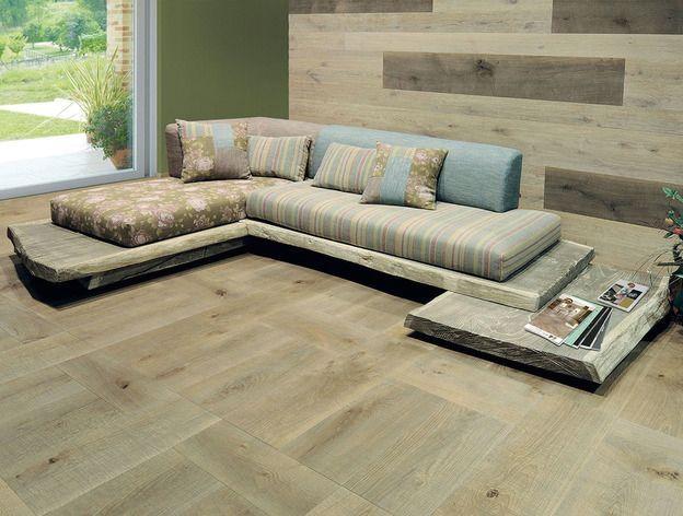 простой оригинальный дубовый диван