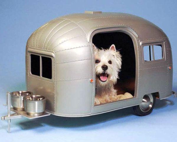 домик-трейлер для собачки