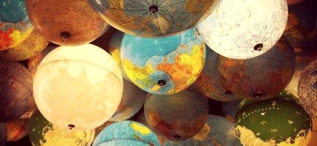 Что сделать из глобуса: несколько креативных идей