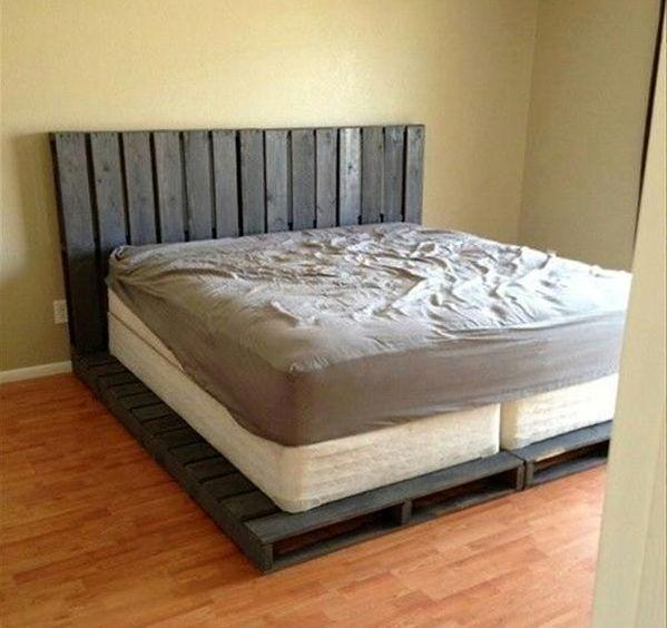 Кровати из поддона