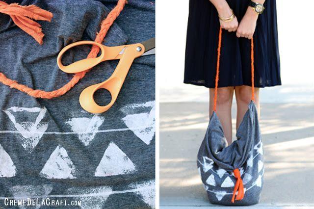 летняя сумка своими руками из наволочки
