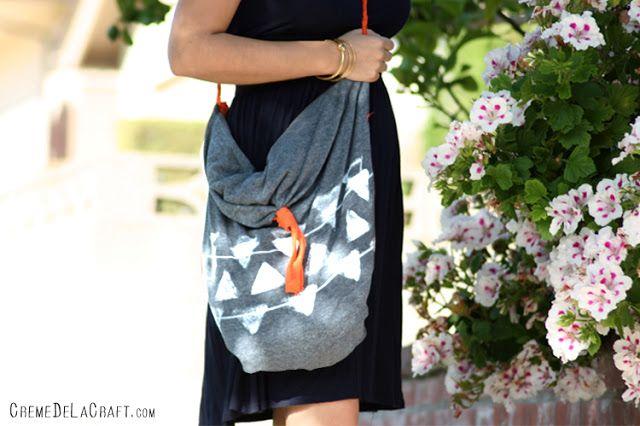 сумка-хобо своими руками без иголки