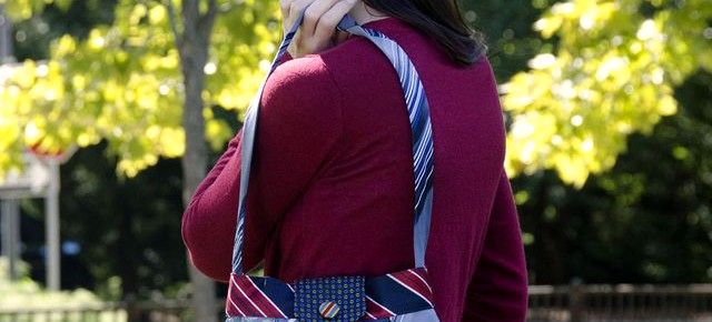 Сумки, кошельки и другие аксессуары из галстуков