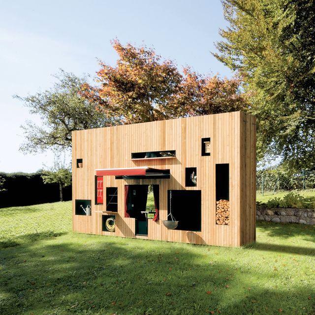 летний домик Walden из дерева